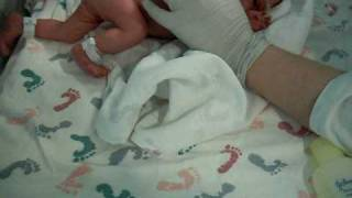 What a baby looks like at 30 weeks gestation. Anti-abortion video.