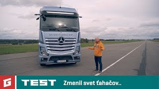 Mercedes Benz Actros 2019 - TEST - ADA - GARAZ.TV - Rasťo Chvála