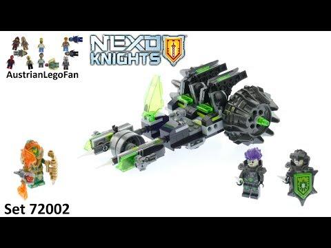 Vidéo LEGO Nexo Knights 72002 : Le double canon