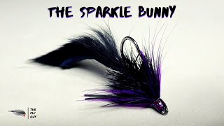 Sparkle Bunny Bass Fly - Drop Shot Fly Tying Demo by Matt Campbell - The Fly Guy