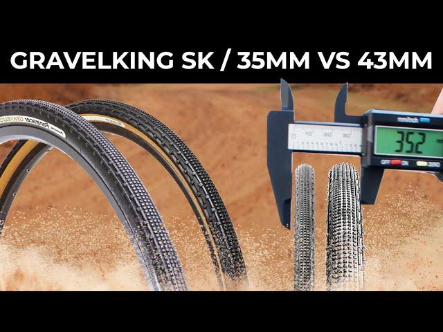 Видео Покрышка Panaracer GravelKing SK 700x50C TLC (Black)