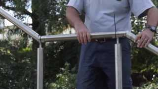 How to Install Stainless Steel Stair Handrails - DIY Professional Way