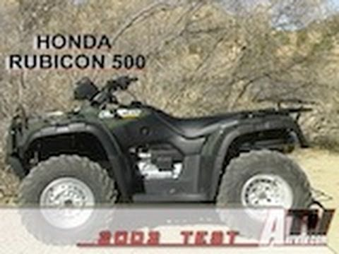 2002 Honda TRX500FA2 FOREMAN RUBICON 4x4 Hondamatic Electric Shift in Missoula, Montana