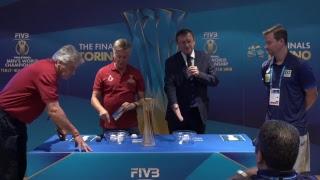 Live Streaming Sorteggio Gironi World Championship