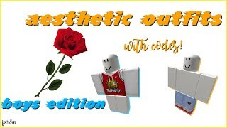AESTHETIC BOYS AND GIRLS OUTFIT CODES *100 SUBSCRIBERS ...