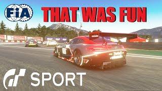 GT Sport That Was Fun - FIA Manufacturer Round 2 Season 3 Top Split