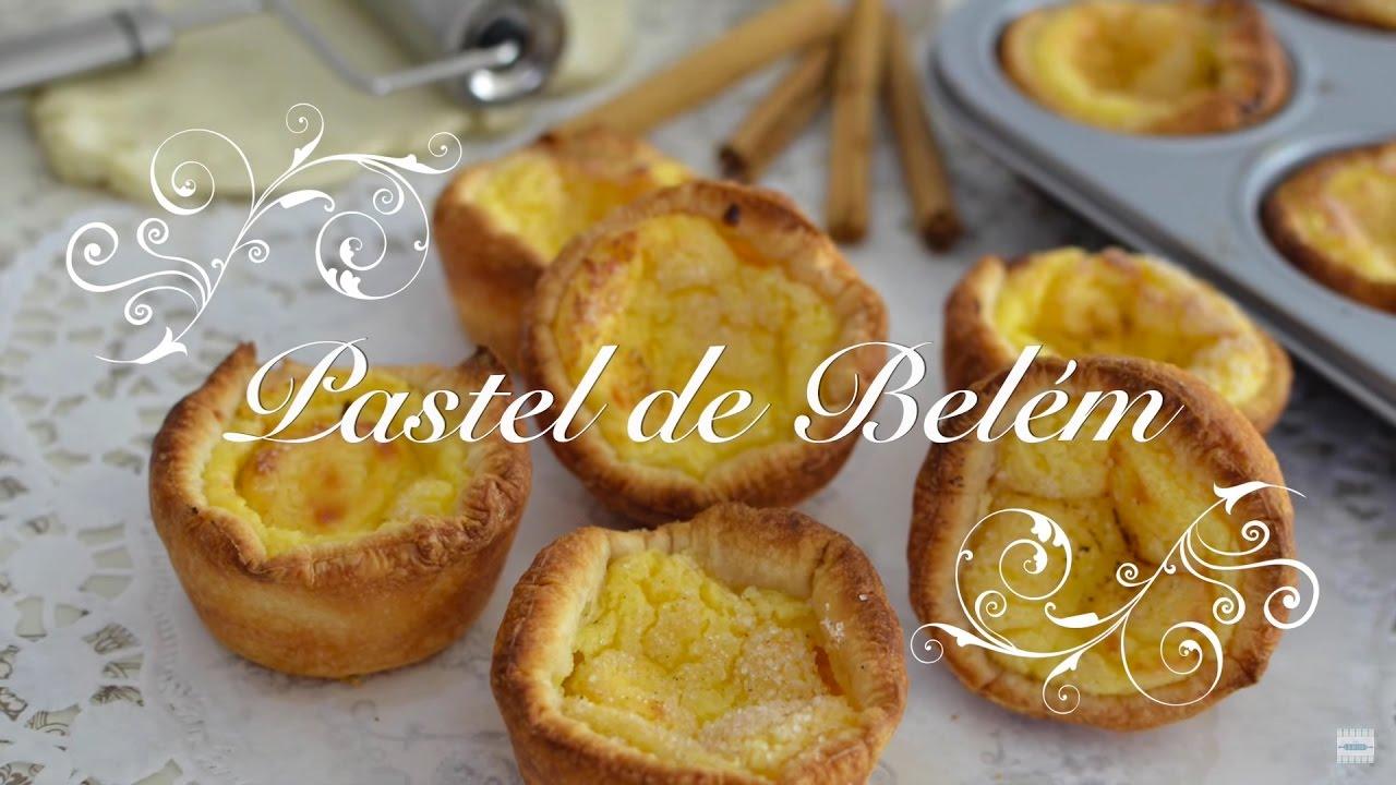 Pasteles de Belém - Pasteles de Nata Portugueses - Pasteles de Belem por chef de mi Casa.com
