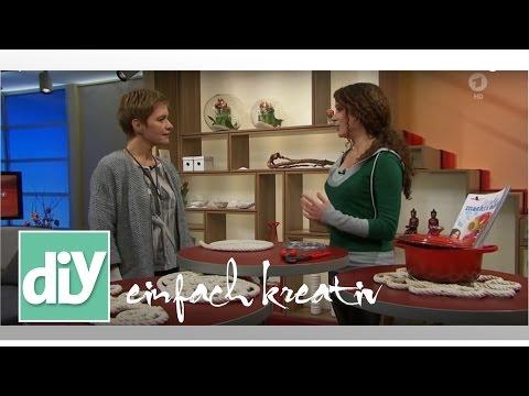Topfuntersetzer aus Naturseil | DIY einfach kreativ