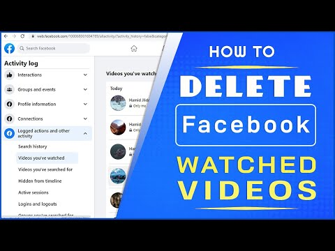 How to Clear Watched Videos on Facebook