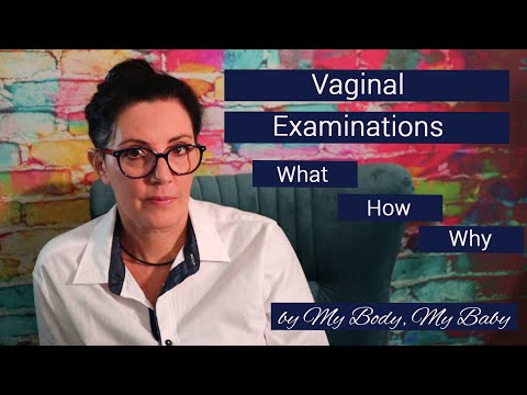 Vaginal examinations - what you need to know.