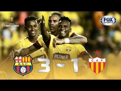 ALÔ, FLAMENGO! Barcelona (EQU) 3 x 1 Progreso (URU) pela Libertadores