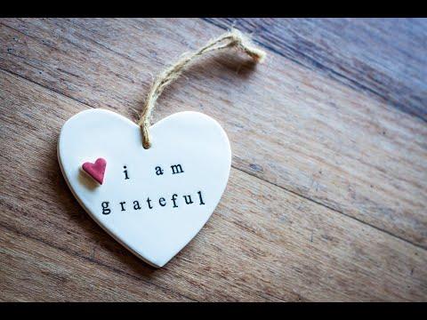"""The Way of Gratitude"" – November 24, 2019"