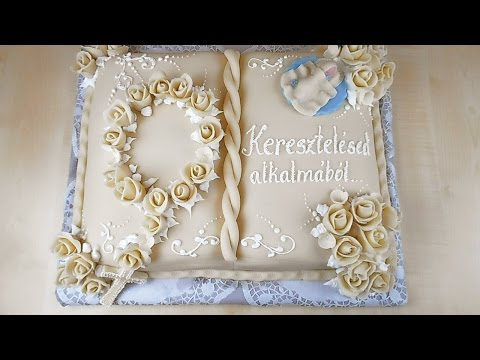 Download How to Make a Book Cake (Keresztelői Könyv Torta) HD Mp4 3GP Video and MP3