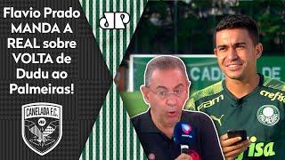 Dudu pode voltar ao Palmeiras; veja o que Flavio Prado falou sobre o atacante