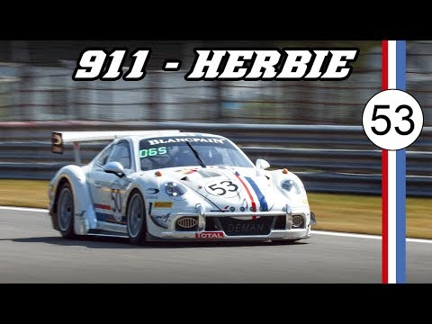 HERBIE Porsche 991 cup MR - 24h of Spa 2019