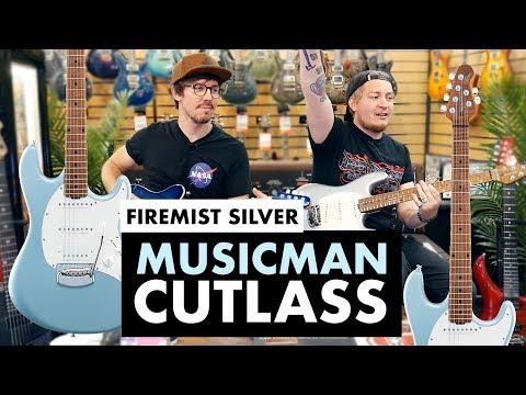 The Incredible Music Man Cutlass RS, Firemist Silver