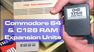 Commodore 64 RAM Expansion Units & SID Random Numbers