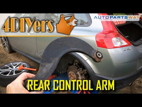 How to Replace the Rear Upper Control Arms on a Volvo C30 S40 V50 C70