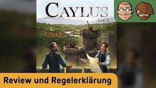 Caylus 1303 - Brettspiel - Rezension und Regelerklärung