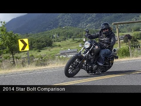 MotoUSA Urban Cruiser Comparison: 2014 Star Bolt