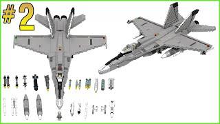 INSTRUCTIONS: LEGO F-18 HORNET (PART 2/3)