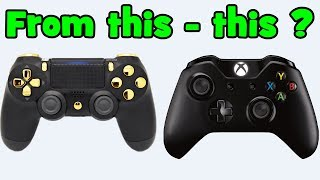 How to make an Xbox controller from any controller? / Virtual Xbox controller with emulator x360ce