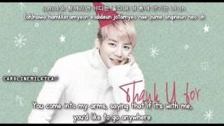 Xia Junsu - Thank U For [ Eng sub+Han+Rom]