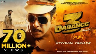 Dabangg 3: Official Trailer | Salman Khan | Sonakshi Sinha | Prabhu Deva | 20th Dec'19 تحميل MP3