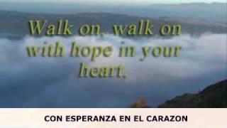 You'll Never Walk Alone - G4 Opera Version - with English and Espanol lyrics