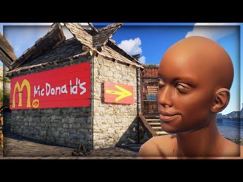 【DE JuN】RUST - 麥當牢陷阱房新設計!想吃漢堡嗎?