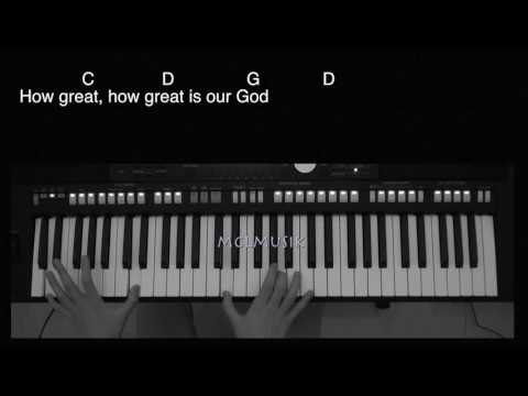 How Great Is Our God with keyboard