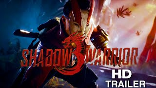 Shadow Warrior 3 || Full HD Teaser Trailer || PS4 || PS5 || Latest games