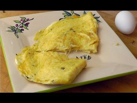 So gelingt das perfekte Käse Omelette