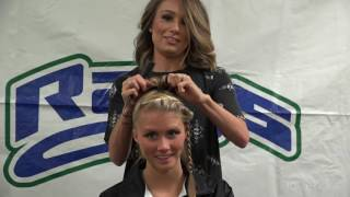 Stingray Allstars competition hair option 1