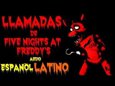Las Llamadas de Five Nights At Freddy's Audio En Español Latino | fnaf