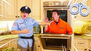 CAUGHT ESCAPING PRISON! HIDE & SEEK IN PRESTON'S HOUSE!
