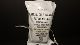 1998 Ration Cold Weather From Stickyfingaz745 Part 2 - 24 Hour MRE Review Lunch & Dinner Tasting