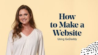 Vídeo de GoDaddy Website Builder
