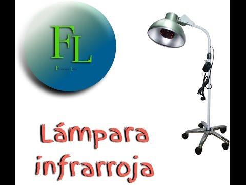 Lampara infrarroja/agentes físicos