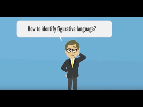 This video will describe how to recognize figurative language in a series of questions.