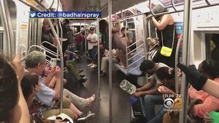 Mouse Causes Subway Scare