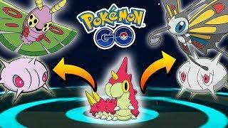 Beautifly  - (Pokémon) - CONSIGO A DUSTOX & BEAUTIFLY! (SILCOON/CASCOON) EN EVOLUCIONES ÉPICAS #13 DE POKÉMON GO!