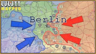 Eastern Front of WWII animated: 1944/1945