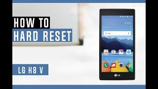 How to Hard Reset LG K8 V VS500 - Erase Everything