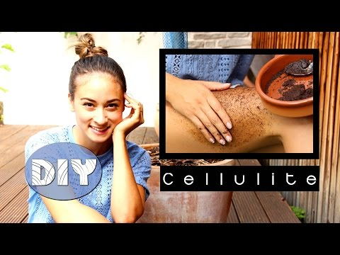 Cellulite bekämpfen - Behandlung - DIY - Was tun gegen Orangenhaut - Hausmittel - Koffein Creme