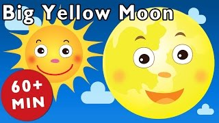 Big Yellow Moon and More | Nursery Rhymes from Mother Goose Club!