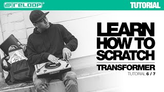 Learn how to Scratch with DJ Angelo: Transformer (Reloop SPIN Tutorial 6/7)