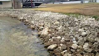 Cedar Creek Custom Retaining Rock wall