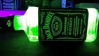How To Make A Glowing Jack Daniels Bottle
