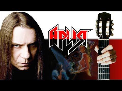Ария - Ангельская пыль на Гитаре + РАЗБОР